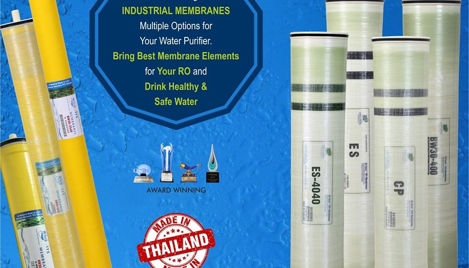 Hi-Tech wide range of industrial membranes