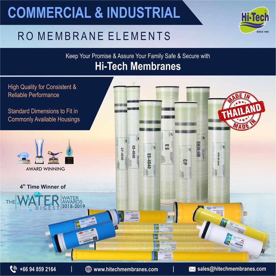 Use Hi-Tech Genuine Membranes for better performance
