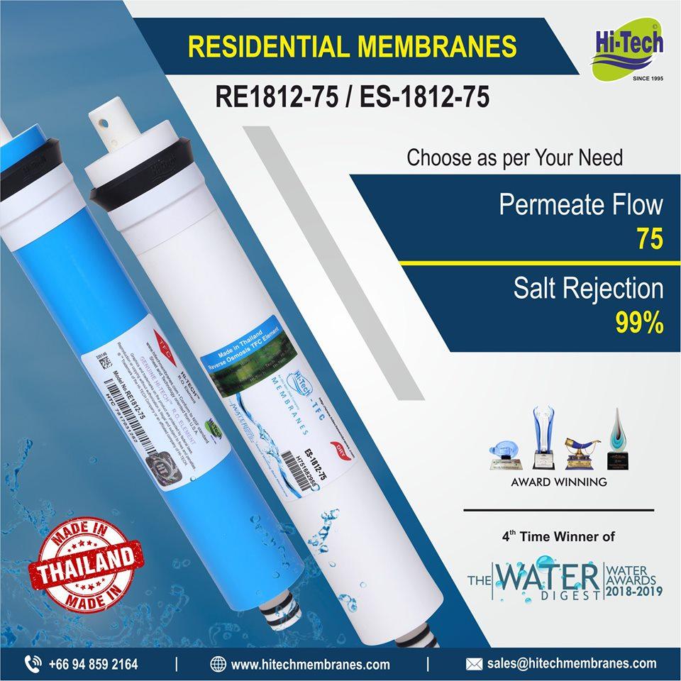 hi-tech-75-gpd-membrane