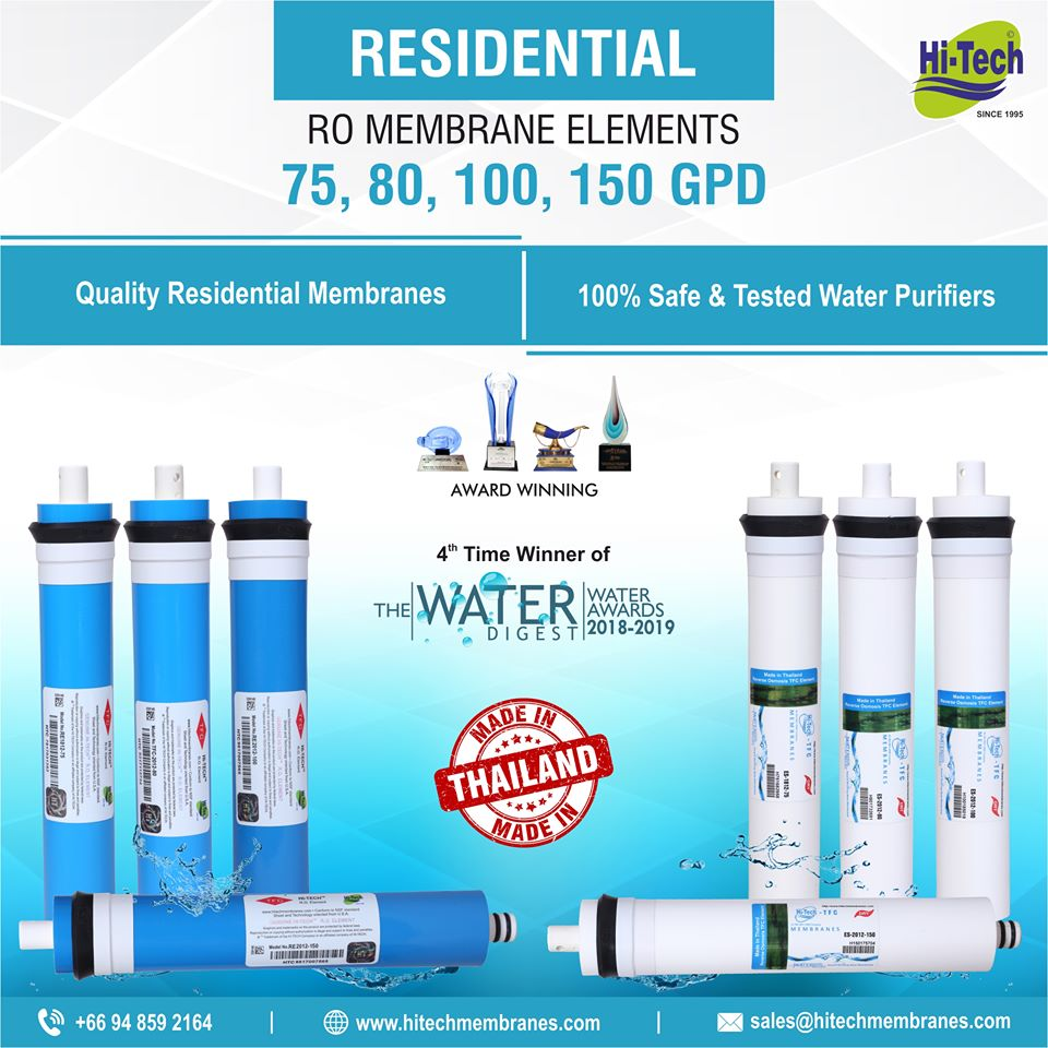 Know your Water and Buy Hi-Tech RO Membrane