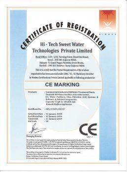 CE CERT 1 Hi-Tech Sweet Water - CEC2-product 2