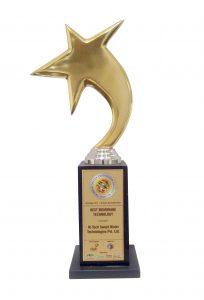 aisa-water-leadership-awards trophy for membrane