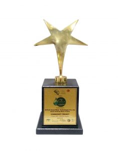 aisa-water-leadership-awards trophy for rural
