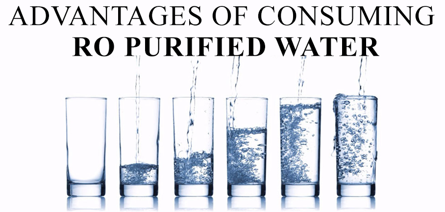 advantages consuming purified water