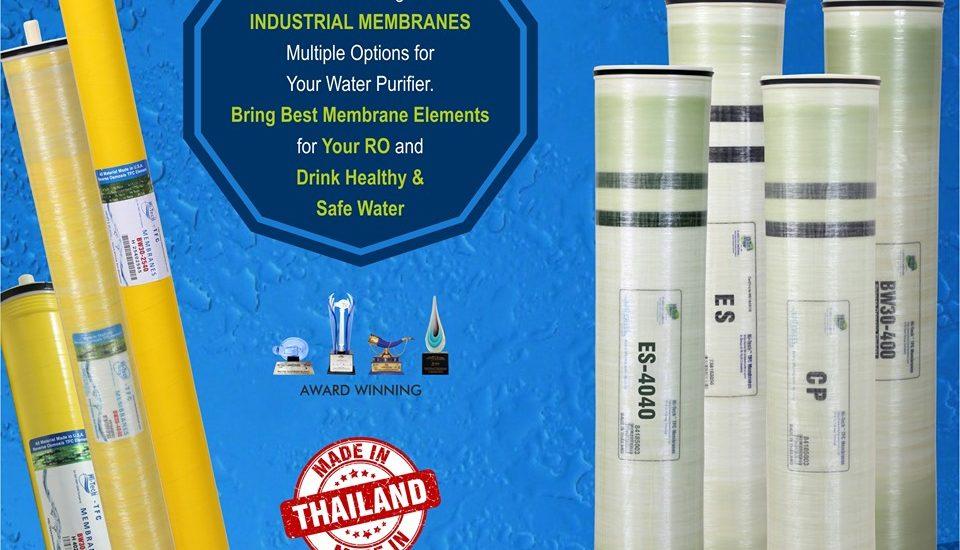 Hi-Tech wide range of industrial membranes